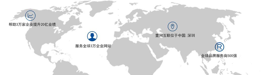 英文企业网站建设覆盖全球业务范围