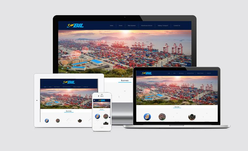 班普顿BIL外贸英文企业网站建设客户案例